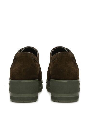 Haki Süet Kadın Ayakkabı