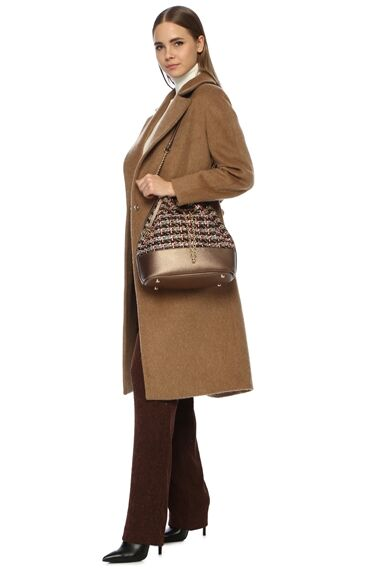 Bronz Kadın Çanta