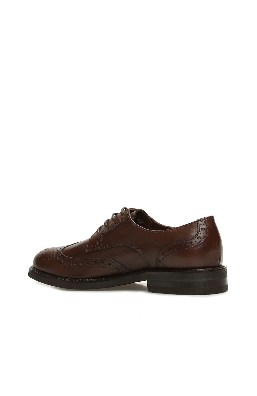 Kahverengi Kadın Deri Ayakkabı