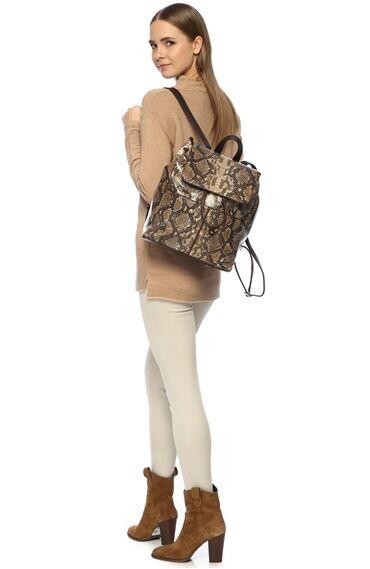 Kahverengi Kadın Sırt Çantası