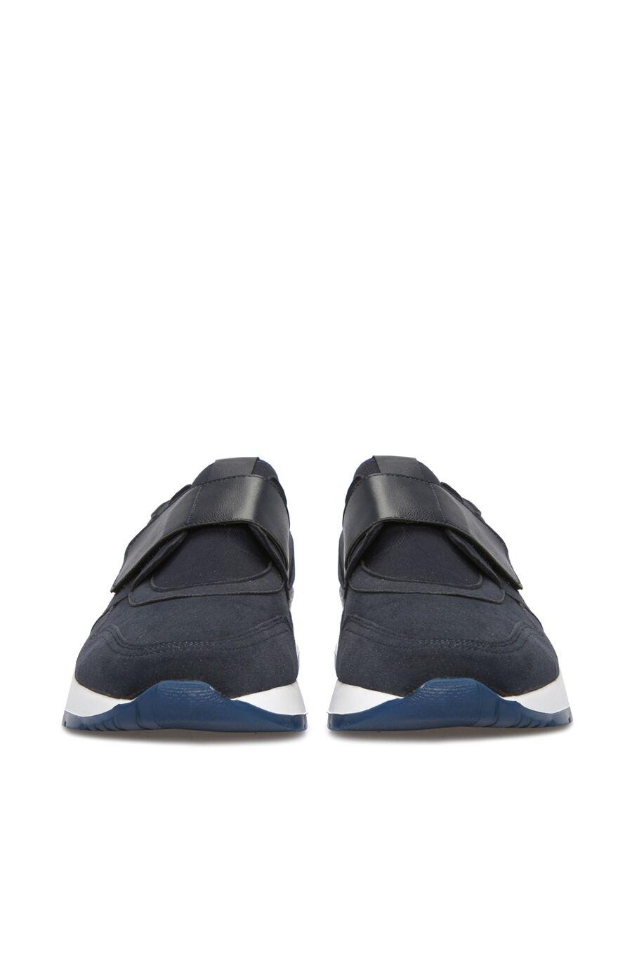 Lacivert Cırt Bantlı Erkek Sneaker