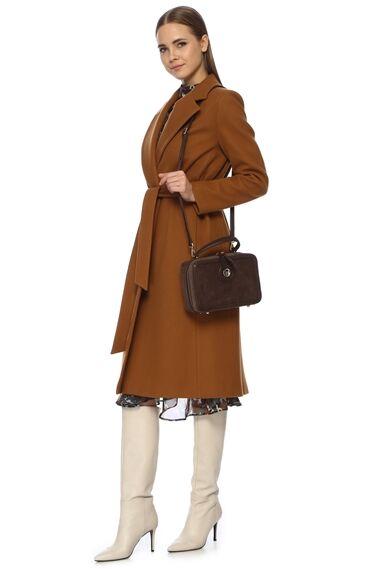 Kahverengi Kadın Postacı Çantası