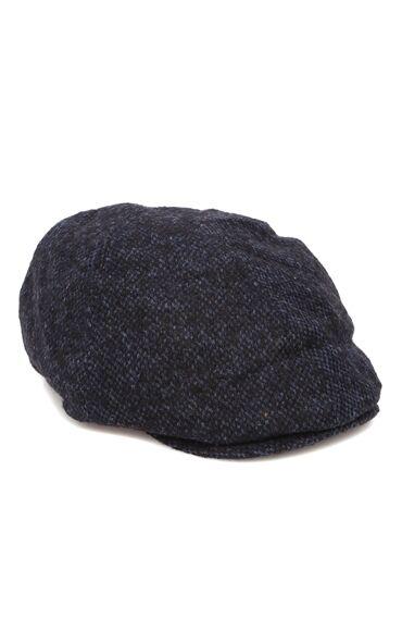 Lacivert Erkek Yün Kasket Şapka