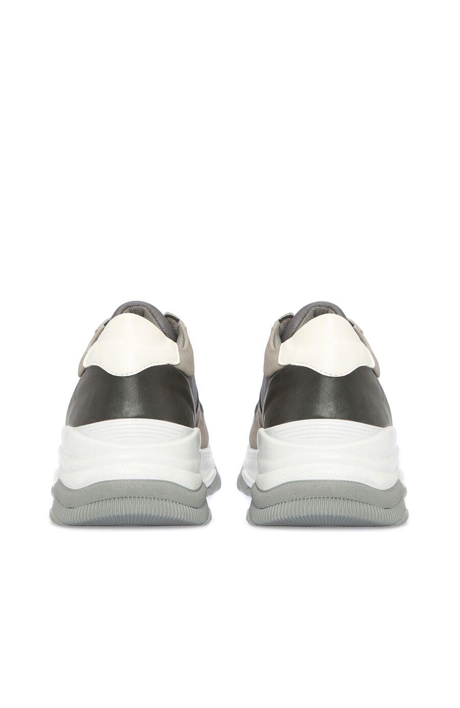 Kalın Taban Gri Erkek Sneaker