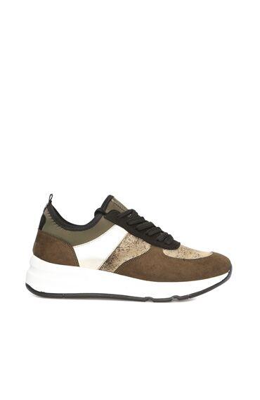 Haki Kadın Sneaker