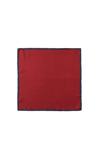 Kırmızı Ipek Erkek Mendil