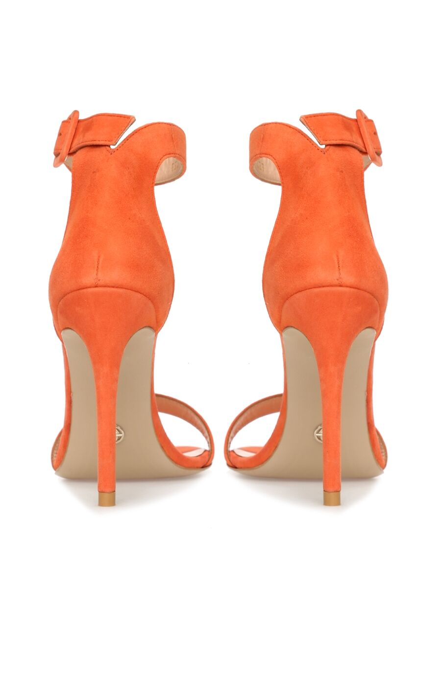 Turuncu Süet Kadın Sandalet