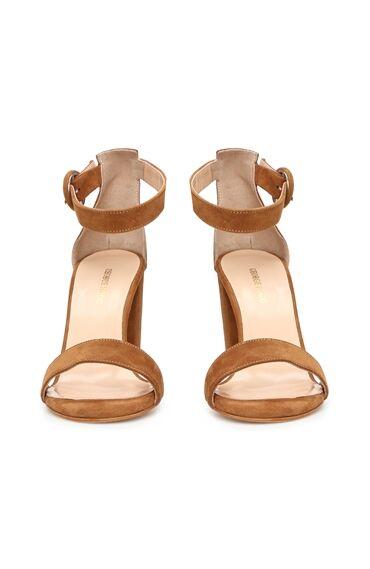 Taba Süet Kadın Sandalet