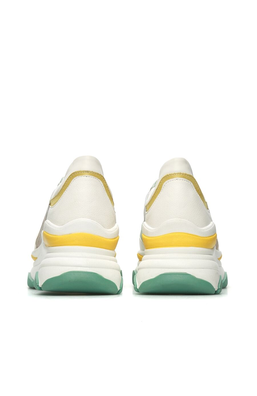 Beyaz Turkuaz Kadın Sneaker