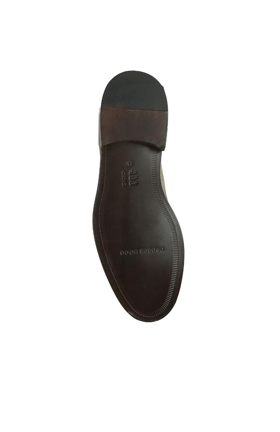 Haki Delik Desenli Erkek Süet Ayakkabı