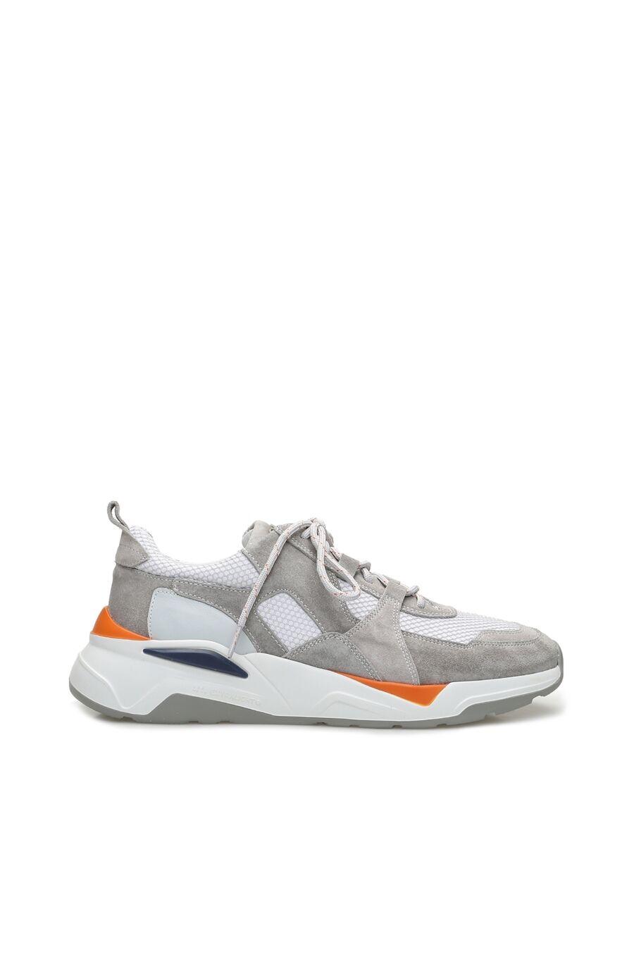 Gri Süet Erkek Sneaker