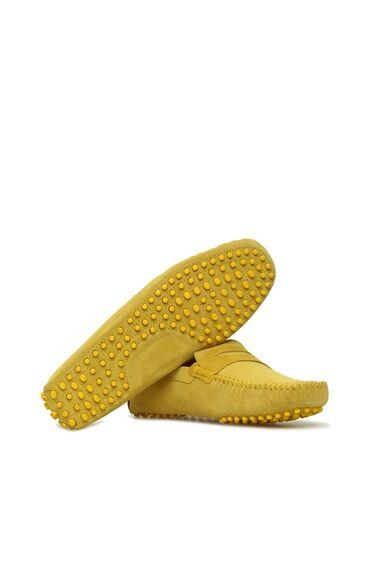 Sarı Süet Loafer