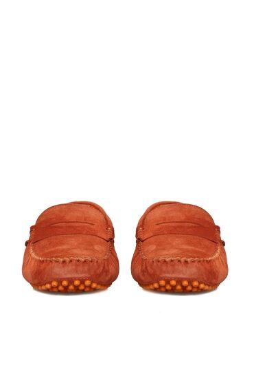 Kiremit Süet Loafer