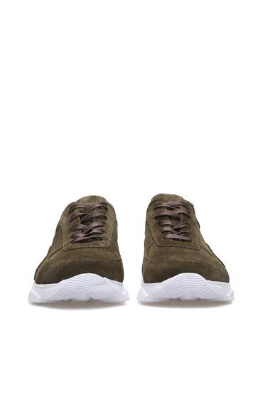 Haki Süet Erkek Sneaker