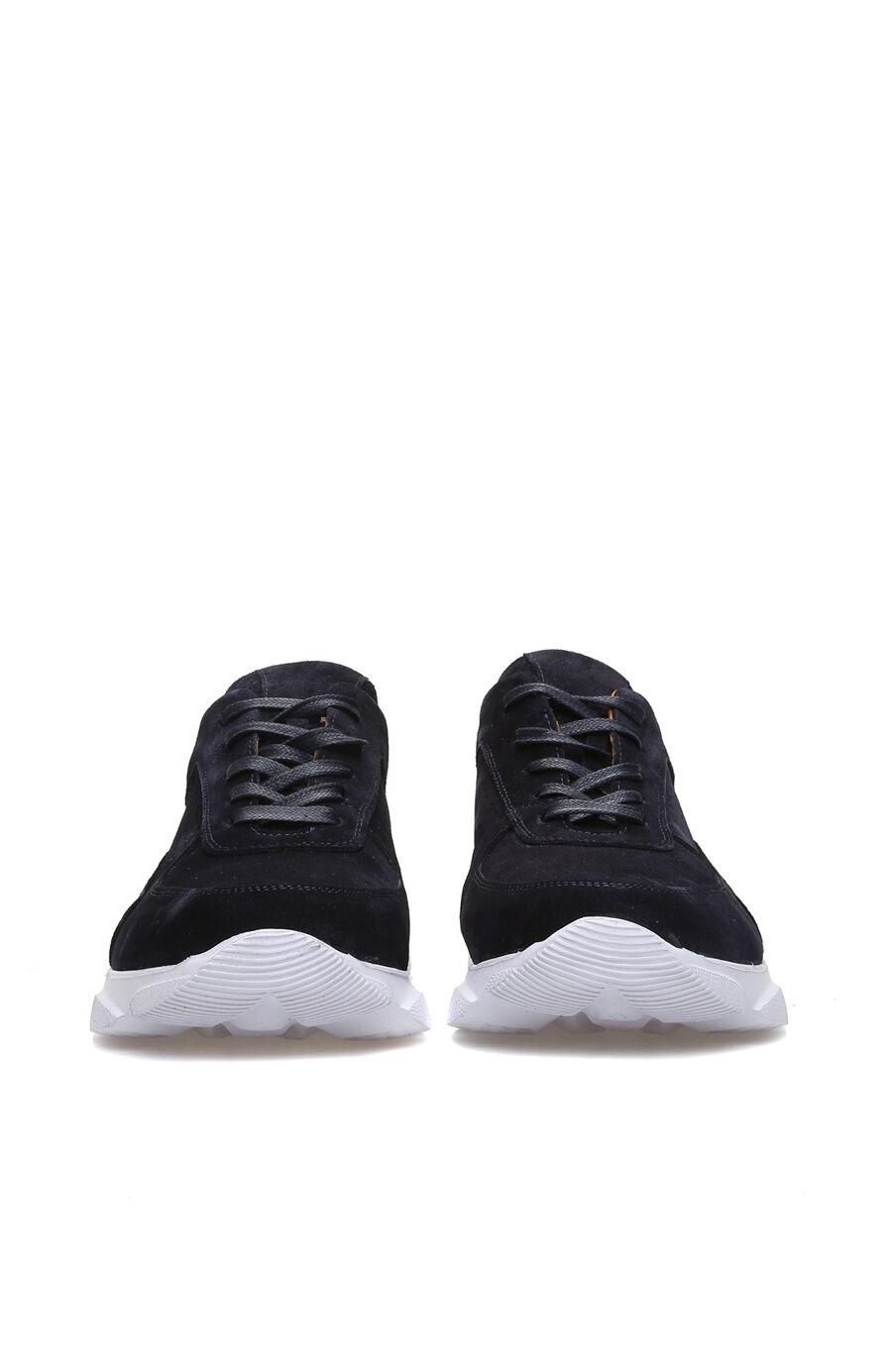 Lacivert Süet Erkek Sneaker