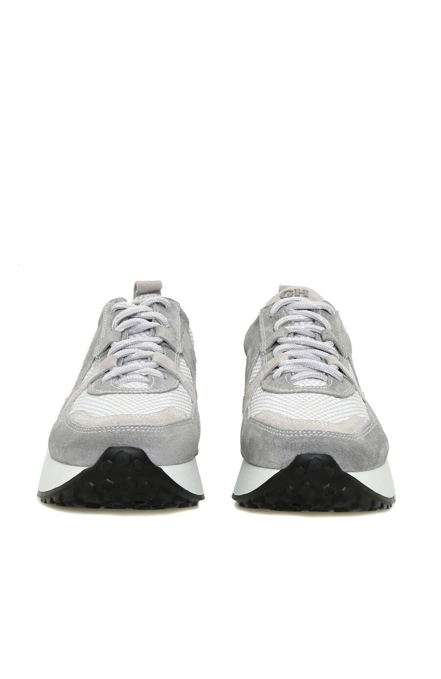 Gri Süet Sneaker