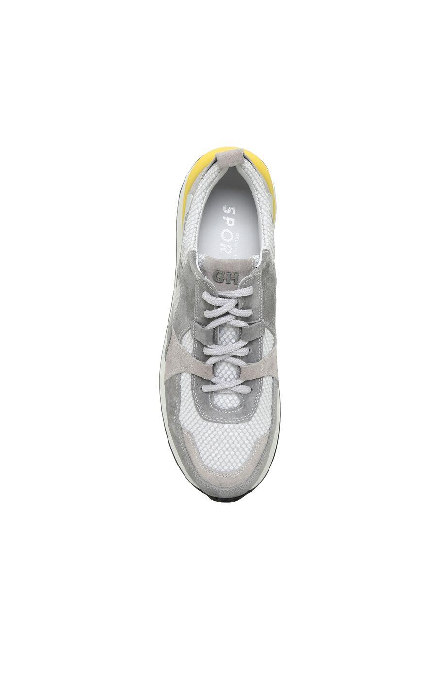 Gri Süet Kadın Sneaker