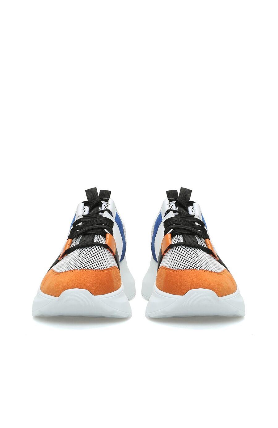 Beyaz Turuncu Kadın Sneaker