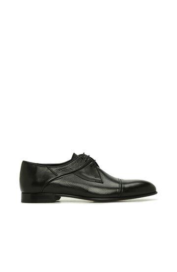 DI TROLLI Siyah Erkek Deri Ayakkabı
