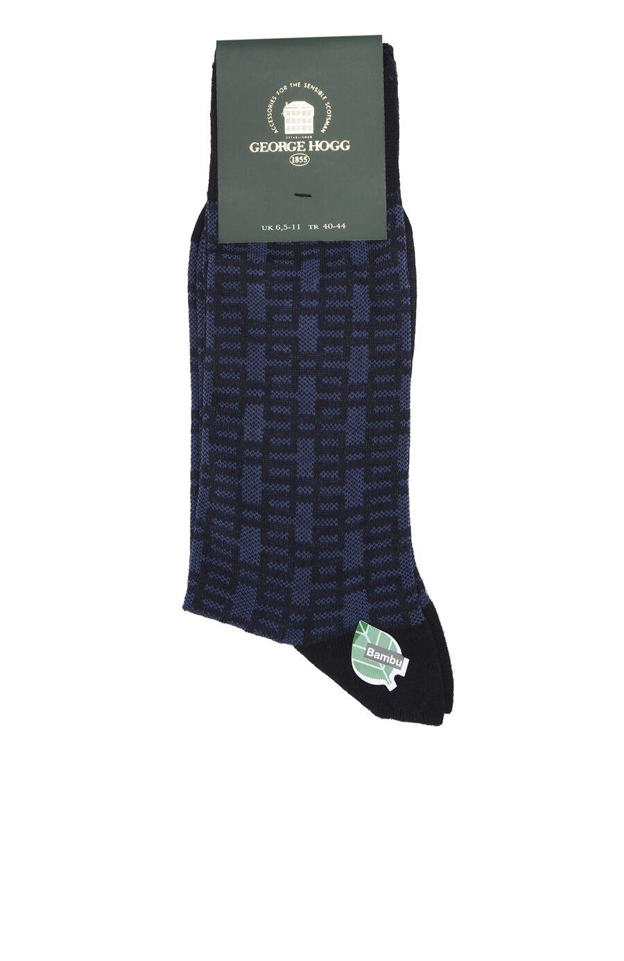 Lacivert Bamboo Çorap