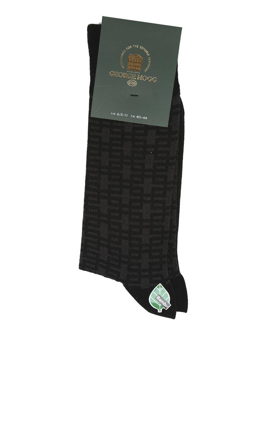 Bamboo Siyah Çorap