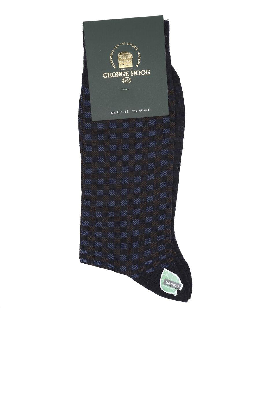 Bamboo Lacivert Çorap