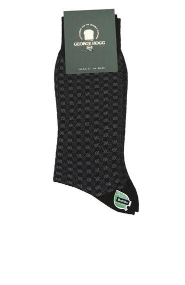 Siyah Bamboo Çorap