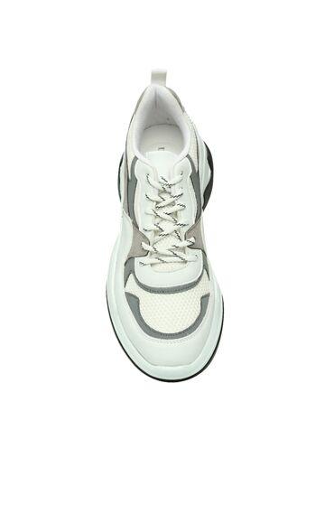 Beyaz Gri Erkek Sneaker