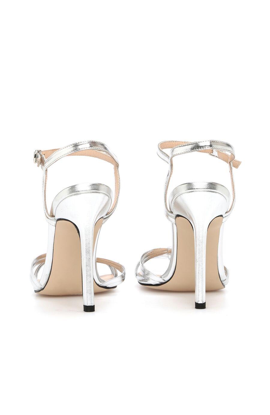 Dcey X Divarese Rita Kadın Gümüş Rengi Sandalet
