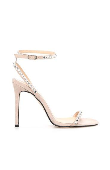 Dcey X Divarese Lana Kadın Bej Rengi Sandalet