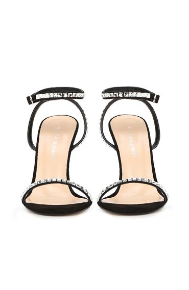 DCEY x Divarese Lana Kadın Siyah Sandalet