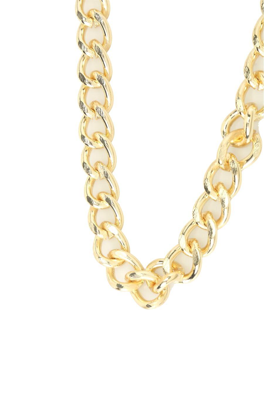 Altın Rengi Kadın Kolye