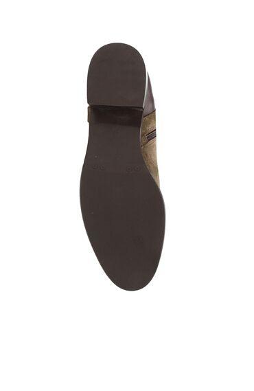 Kahverengi Topuklu Süet Deri Çizme
