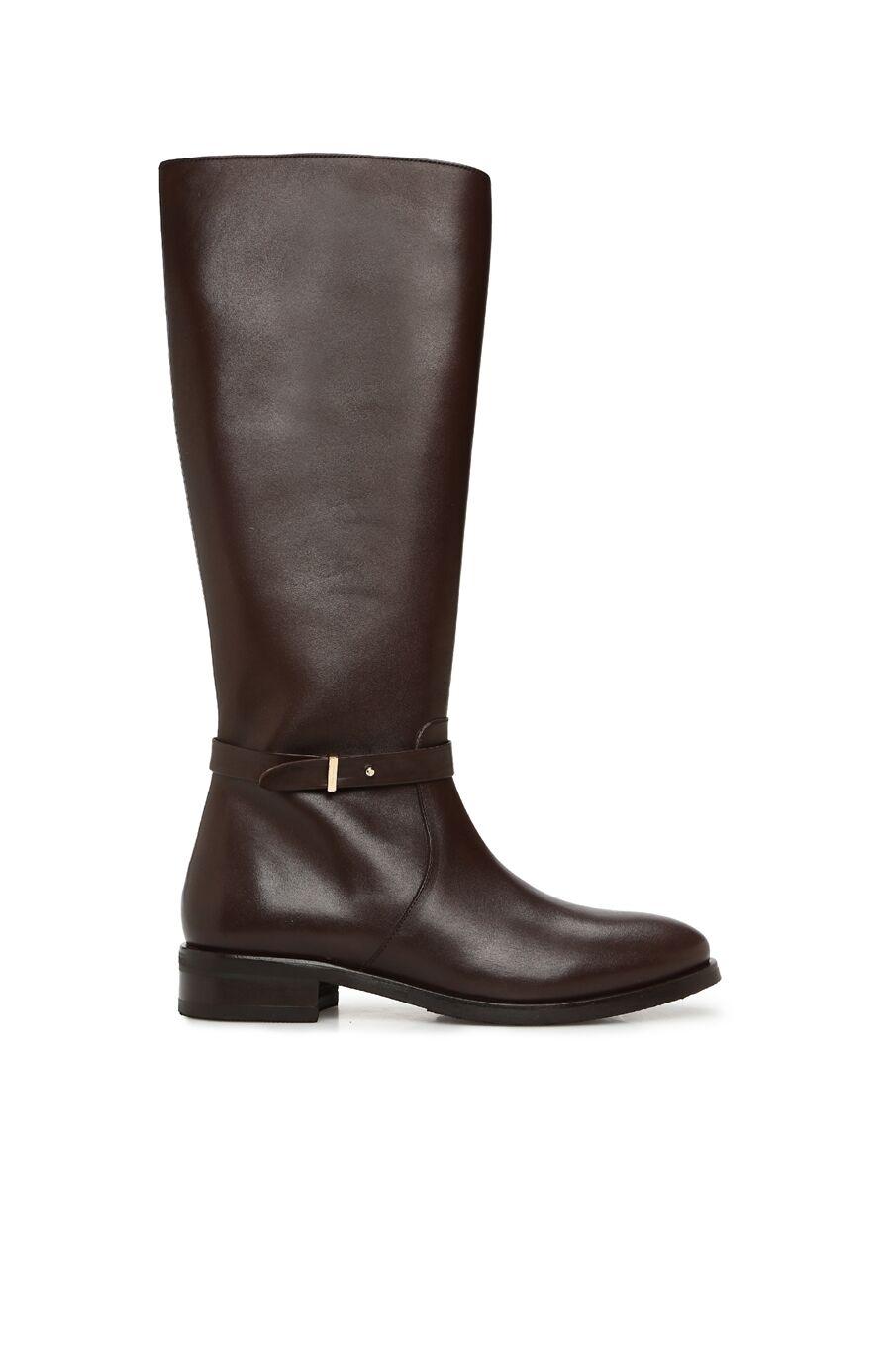 Kahverengi Kadın Deri Çizme