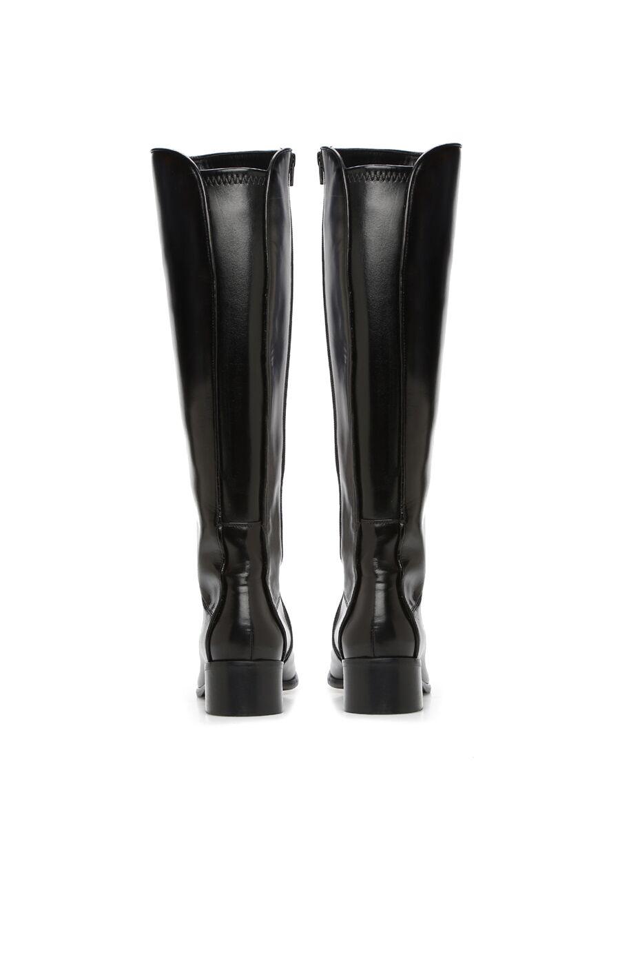 Siyah Kadın Deri Çizme