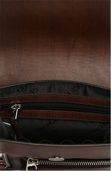 Kahverengi Erkek Deri Çanta