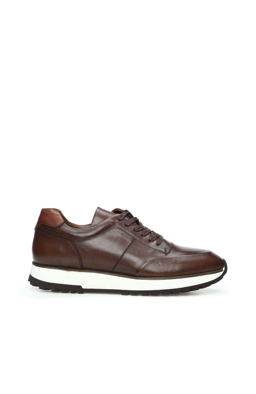 Kahverengi Erkek Deri Ayakkabı