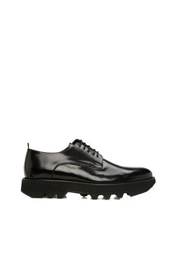 DIVARESE BLACK Siyah Taban Detaylı Erkek Deri Ayakkabı