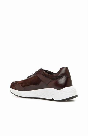 Kahverengi Erkek Süet Deri Ayakkabı