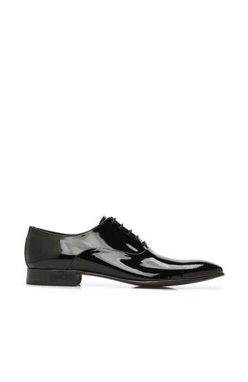 DI TROLLI Siyah Erkek Rugan Ayakkabı