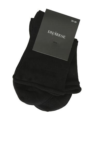 Siyah Kadın 2li Çorap Seti