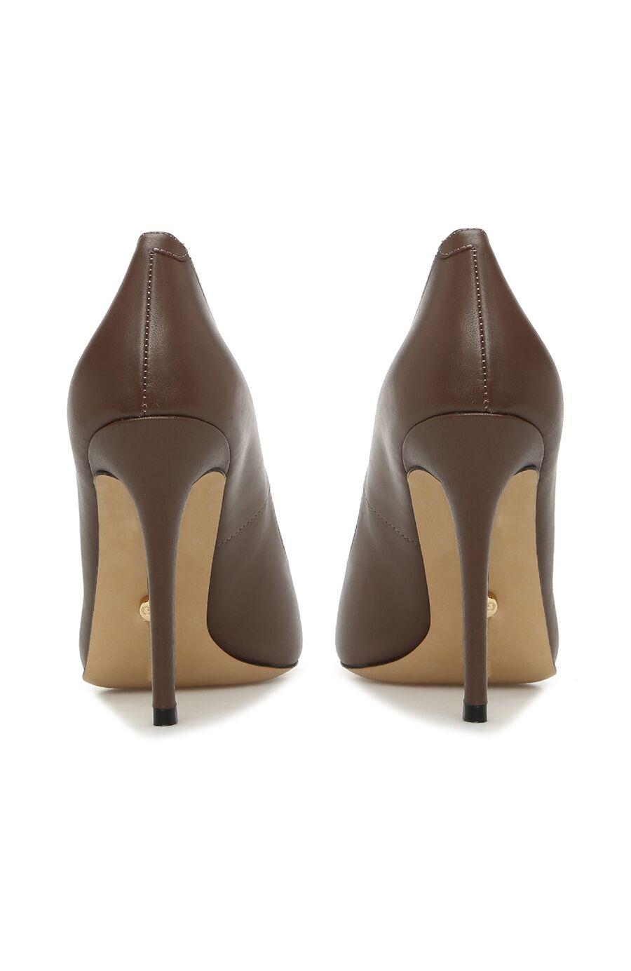 Kadın Vizon Deri Stiletto