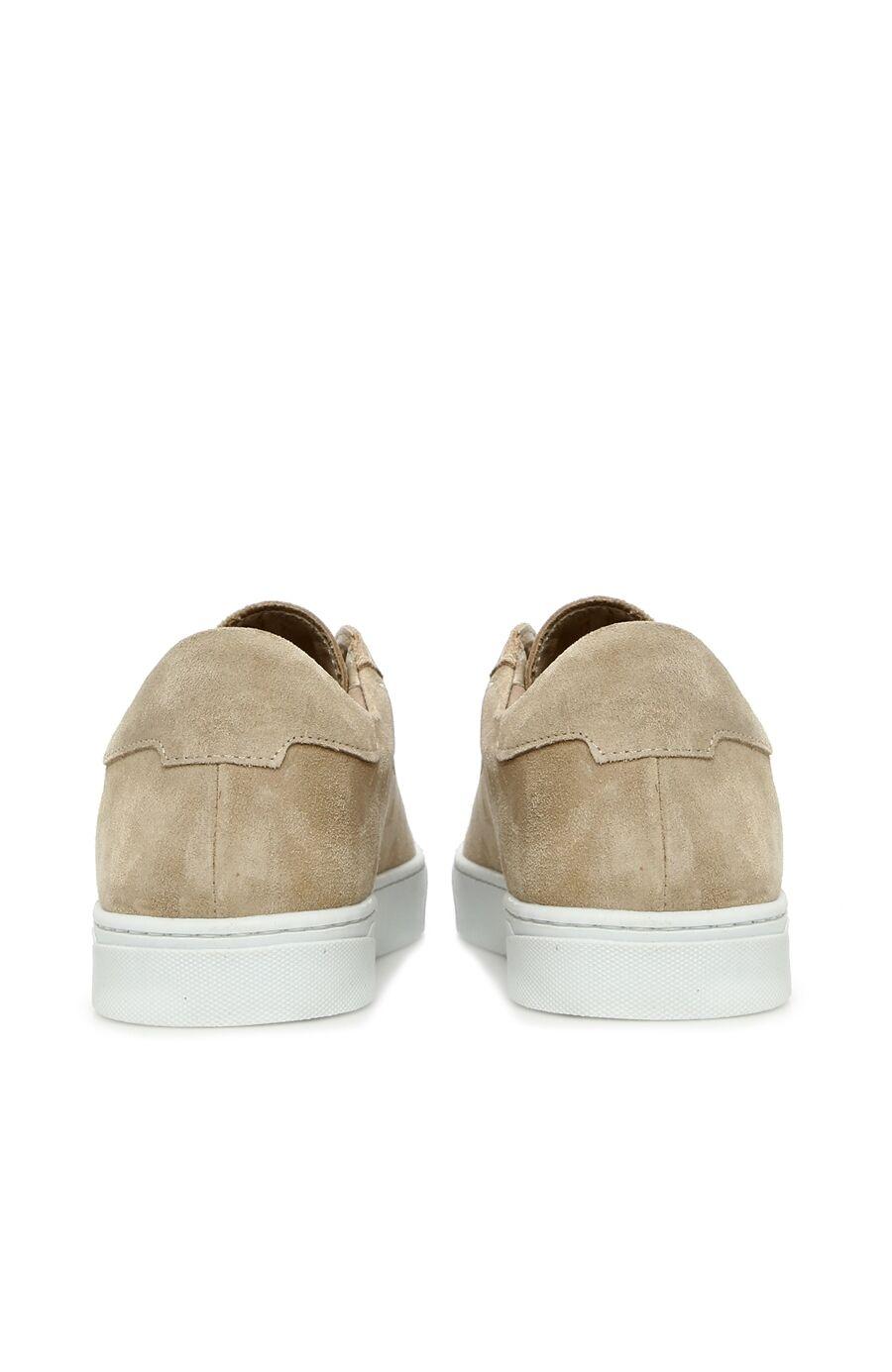Bej Kadın Süet Ayakkabı