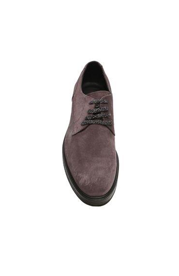 Gri Erkek Süet Erkek Ayakkabı