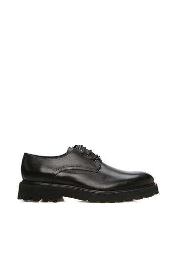 DIVARESE BLACK Siyah Erkek Deri Erkek Ayakkabı