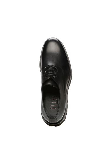 Siyah Erkek Deri Erkek Ayakkabı