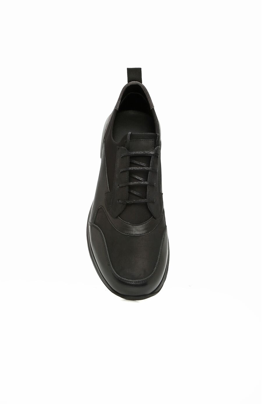 Siyah Erkek Süet Sneaker