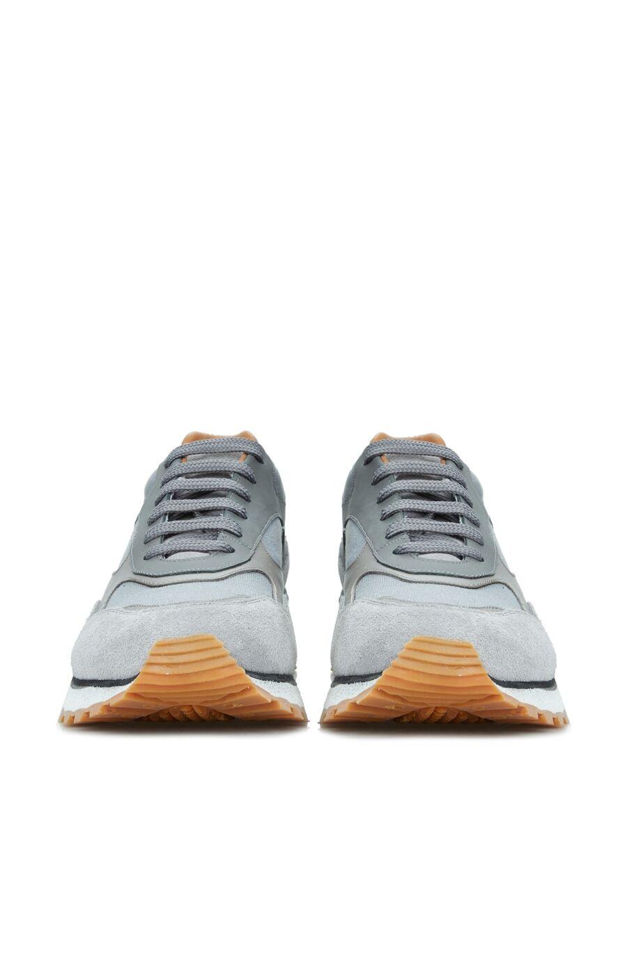 Erkek Mavi Logolu Sneaker