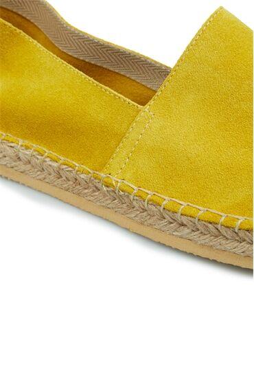 Erkek Sarı Logolu Espadril