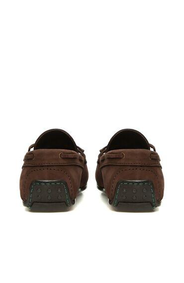 Kahverengi Püsküllü Nubuk Erkek Loafer